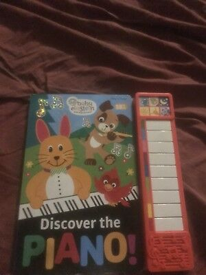 18mth Baby Einstein  Discovee The Piano