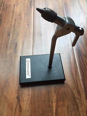 Dyna King Kingfisher Fly Tying Vise With Pedestal Base Usa Made Nr
