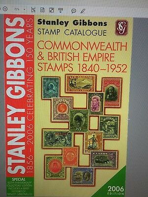 Stanley Gibbons Stamp Catalogue Commonwealth & British Empire 2006 Cd Pdf