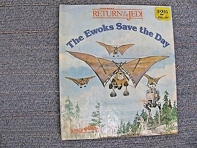 Vtg 1983 Star Wars ROTJ The Ewoks Save the Day Pop-Up Child's Book