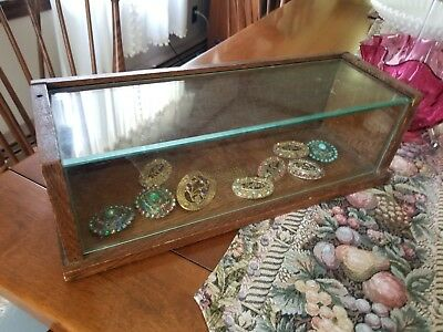 Sealpackerchief Co. General Store counter Display Case