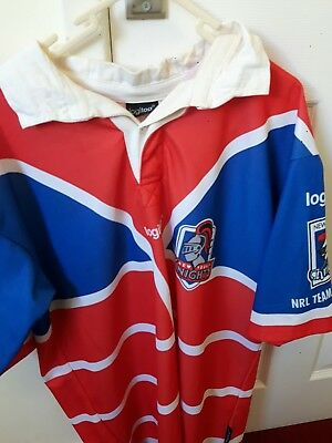 NEW YORK KNIGHTS AMERICAN RUGBY LEAGUE SHIRT Large. HARD TO FIND