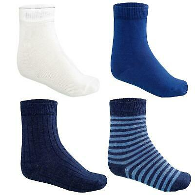 12-er Pack Kinder Socken Junden Kids Socks Boys Blaumix 23-26
