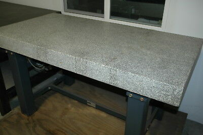 """Vibraplane Granite Surface Plate 59"""" x 30"""" x 4"""", Kinetic Systems"""