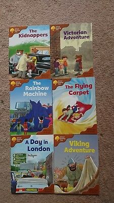 Oxford Reading Tree Stage 8 Stories Used Good Condition with Teaching Notes Book
