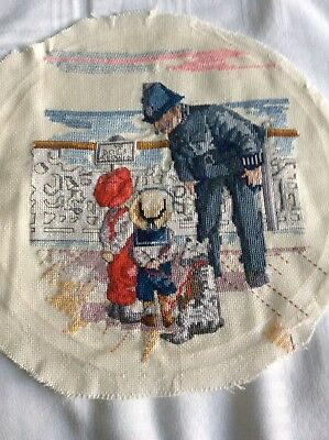 Completed Cross Stitch All Our Yesterdays