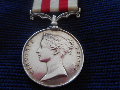 Indian Mutiny Medal To Lowe In The Warks Regt.