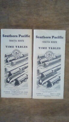 Southern Pacific RR - Railroad Timetables - 1949 - 1949 - Lot of 2  *CLOSEOUTS*
