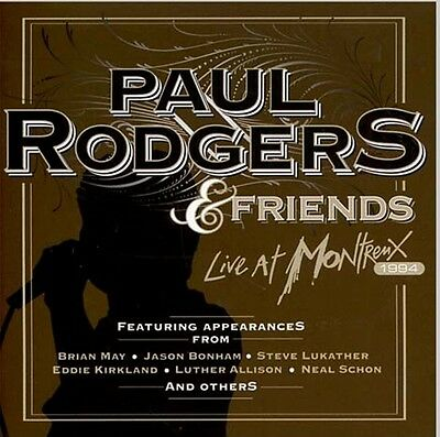 Paul Rodgers & Friends Live At Montreux 1994 Sealed Cd New