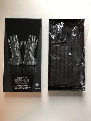 DARTH VADER Gloves (L) ANOVOS Star Wars:The Empire Strikes Back ORIGINAL BOX