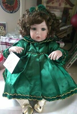 """Marie Osmond """" Amaya Holiday """" Toddler Doll Limited Edition"""