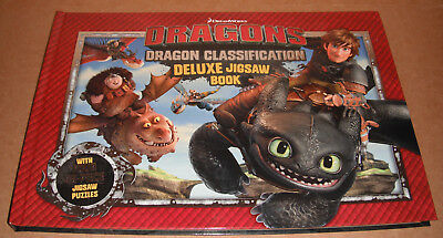 How to Train Your Dragon Deluxe Jigsaw Book