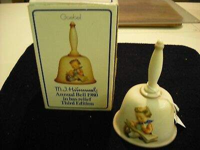 Goebel Hummel 1980 Annual Bell 3rd Edition -  Original  Box