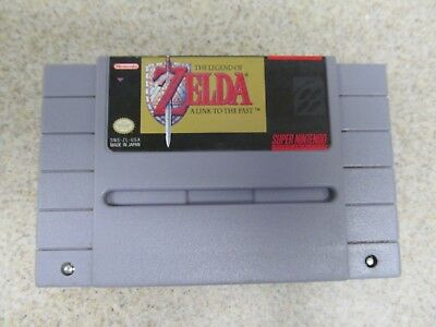 The Legend of Zelda: A Link to the Past (Super Nintendo SNES) 100% Authentic