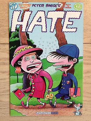 Various comics: HATE, Fat Freddy's Cat and others