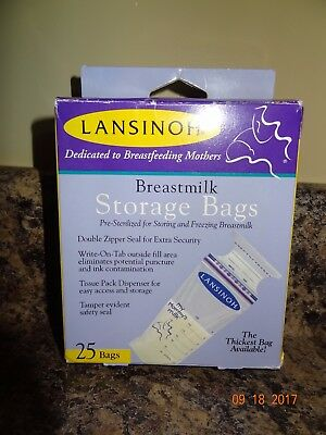 Lansinoh Breast Milk Storage Bags - 24 Count