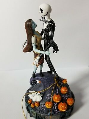 Tim Burton NIGHTMARE BEFORE CHRISTMAS Simply Meant To Be MUSICAL Figurine NEW