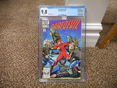 Daredevil 195 cgc 9.8 WHITE pages Marvel 1983 MINT movie TV show O'Neil Janson