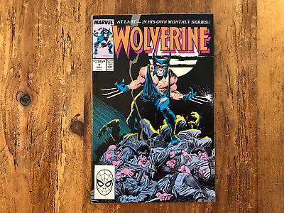 Wolverine #1 Marvel Comics 1988 1st Wolverine App as Patch KEY Combine Shipping*