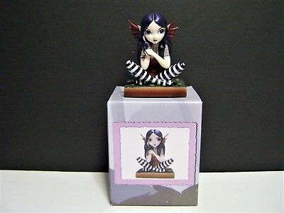 """Goth Fairy """"Lost...But Not Worried"""" by Jasmine Becket-Griffith-Strangeling-2005"""