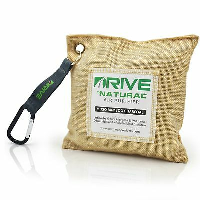 NEW Car Air Freshener, 220g Natural Bamboo Charcoal Purifying Bag by DRIVE Auto™