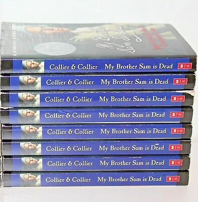 My Brother Sam is Dead Classroom Teacher Set Lot of 8 Books by James Collier