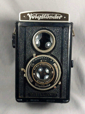 Vintage Voigtlander Brilliant TLR Camera