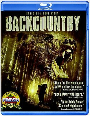 NEW BLU RAY  - BACK COUNTRY - Jeff Roop, Eric Balfour Missy Peregrym TRUE HORROR