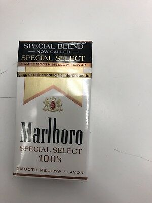Brand New Unopened Marlboro Special Blend 100's Pack!