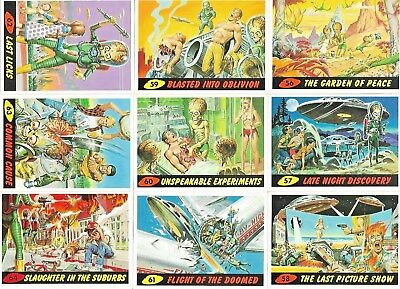 Mars Attacks 1994 Unplublished 11 Card Set 56-66 Topps 1994 New