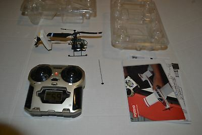 Kyosho Caliber 120 RC Helicopter Caliber 120 + KT-20 Controller Untested