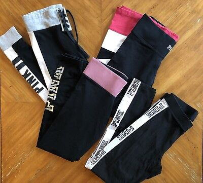 PINK Victoria's Secret Yoga Leggings Mixed Lot