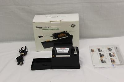 Powermatic II + Electric Cigarette Rolling Machine
