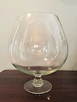 Vintage Hand Blown Large Brandy Snifter 11 Tall 2999 Picclick