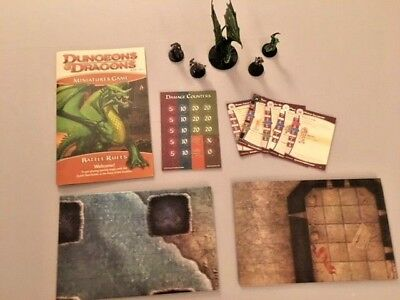 Dungeons and Dragons 4th Edition D&D Miniatures Game - book, minis, cards, etc