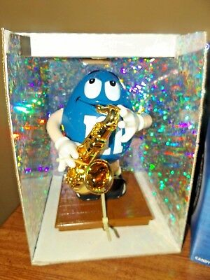 M&M Blues Cafe Limited Edition Candy Dispenser NIP