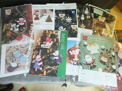Christmas / Xmas / Winter / Ornaments Santa,Snowman,Angels,Decor  Patterns in PC