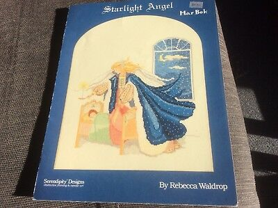 Starlight Angel Cross Stitch Pattern Be-31 From Marbek Collection