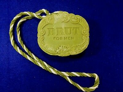 Vintage Brut Faberge Soap On A Rope 8 Oz Original Box New Old Stock