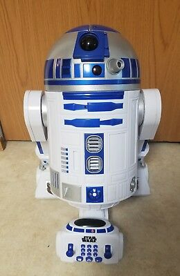 Star Wars: R2-D2 Interactive Robot! Thinkway Toys! Complete! Works!
