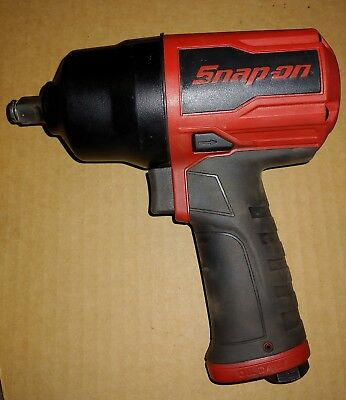 "Snap On PT850 1/2"" Super Duty Impact Wrench Red -Like new!!"
