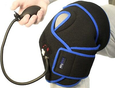 Knee Ice Gel Pack Cryotherapy Injury Cuff Superior Cold Compression Therapy