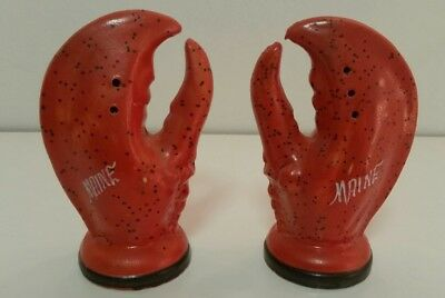 Maine Lobster Salt & Pepper Shakers - GUC
