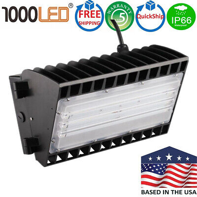 1000LED 150W LED Wall Pack Outdoor Area Half Cutoff Wall Pack UL DLC Listed IP65