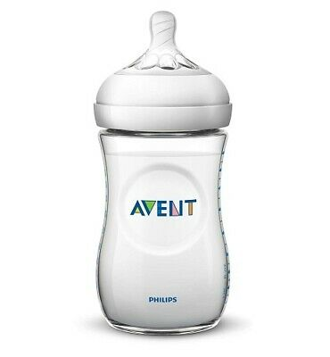 New AVENT Natural Feeding Bottle 260mL Natural Teat Shape BPA Free