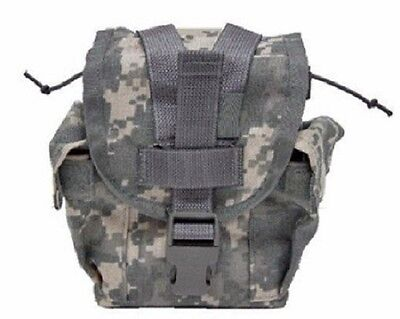 US Army Military MOLLE Canteen Pouch UCP ACU camouflage Feldflasche Tasche