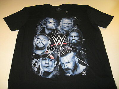 8 or 10//12 $18 WWE REIGNS CENA ORTON LESNAR Tee T-Shirt NWT Boys Sz 6//7 4//5