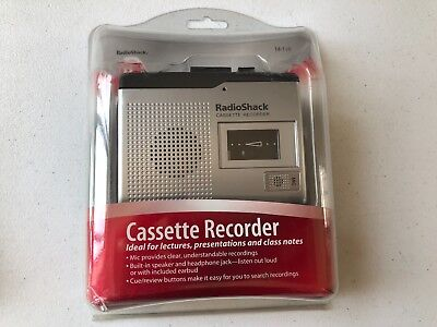 New Old Stock Radio Shack Cassette Recorder Player #14-110 Factory Sealed
