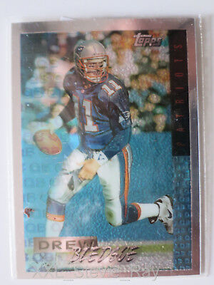 DREW BLEDSOE  - 1995 Topps Mystery finest INSERT  - New England Patriots