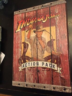 Indiana Jones Action Pack Box Set - 3 Indiana Jones books & fold out poster